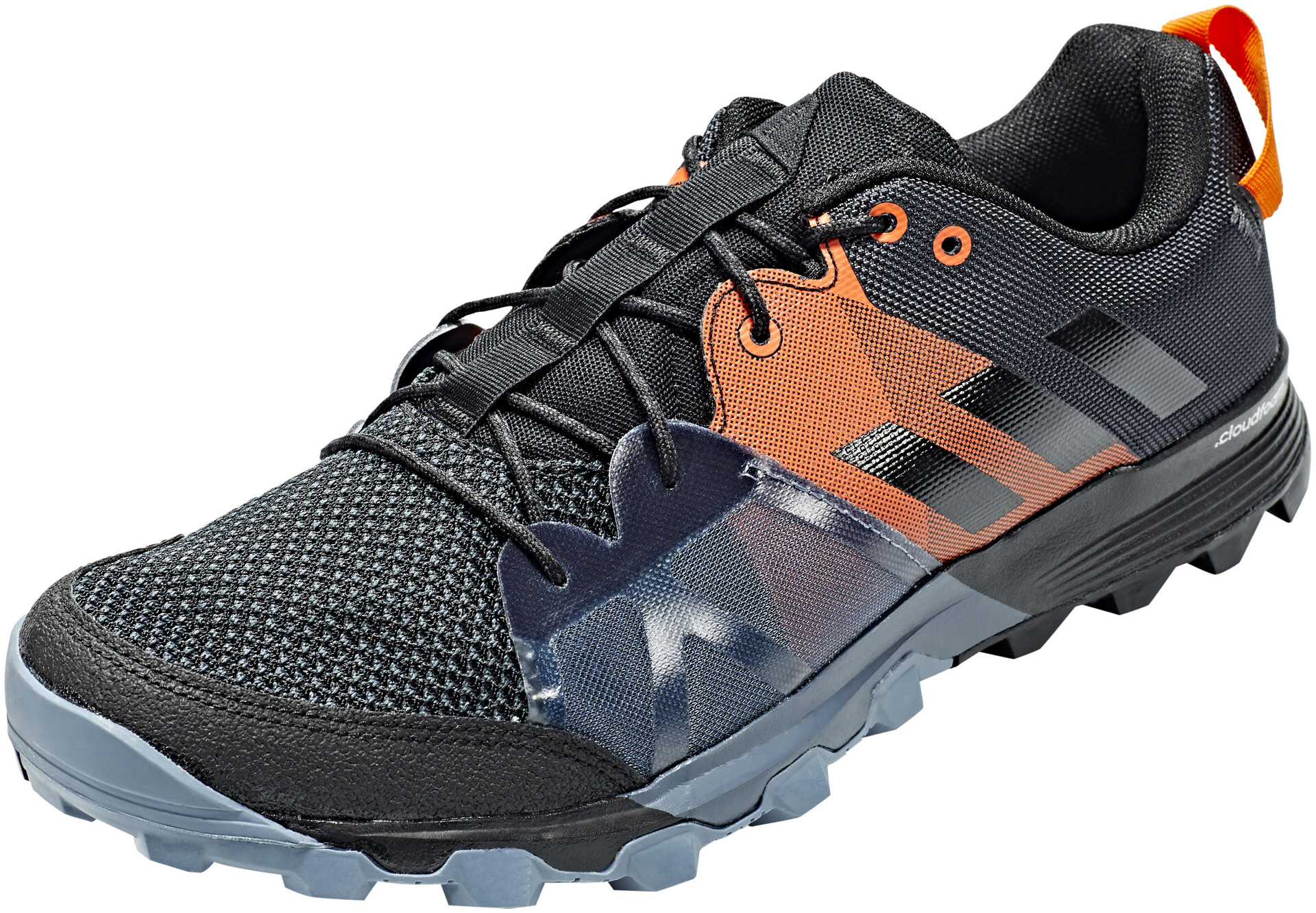 online retailer ef772 6e959 ... buy adidas kanadia 8.1 trail shoes men carbon core black orange dd6a8  f4574